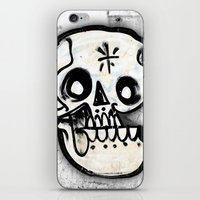 calavera iPhone & iPod Skins featuring Calavera by Happy Tao