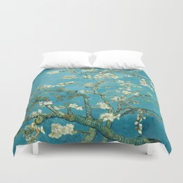 Almond Blossoms by Vincent van Gogh Duvet Cover