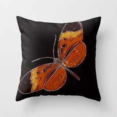 Untitled Butterfly 3 Throw Pillow