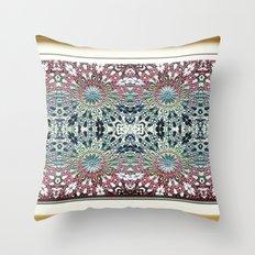 Victorian Garden 2 Throw Pillow