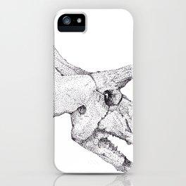 Skull of a Dinosaur iPhone Case