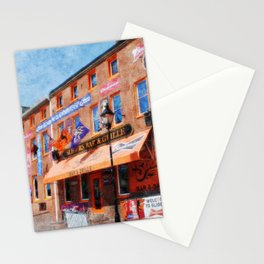 Sliders Bar and Grille, Baltimore, Maryland, Camden Yards, Orioles  Stationery Cards