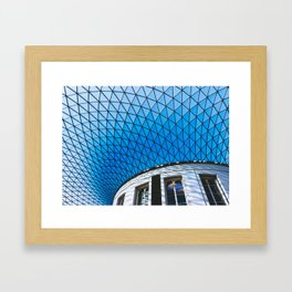 Great Court at the British Museum, London Framed Art Print