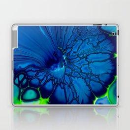 Indigo hibiscus Laptop & iPad Skin