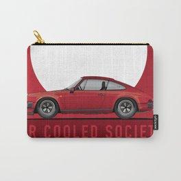 1983 911SC Guards Red Jim Plavan Carry-All Pouch