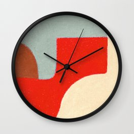 Crossing Town Wall Clock