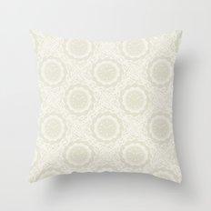 A. W. Throw Pillow