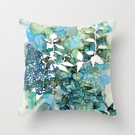 Beauty Of Chaos 1 Throw Pillow