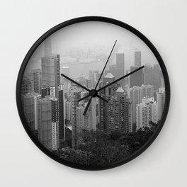 Hong Kong Island Wall Clock