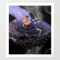 Space Velodrome Art Print