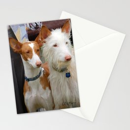 Two Coats - Same Breed Stationery Cards