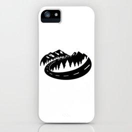 Cascade Camper Stealth Logo iPhone Case