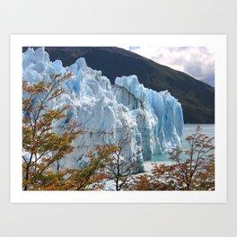 Perito Moreno Glacier, Patagonia, Argentina Art Print