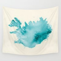 iceland Wall Tapestries featuring Iceland by Kristjan Lyngmo