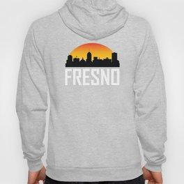 Sunset Skyline of Fresno CA Hoody
