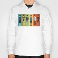 tegan and sara Hoodies featuring Tegan and Sara: Tegan collection by Cas.