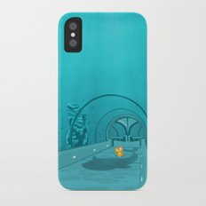 Gluttony - When the eye is bigger than the belly iPhone X Slim Case