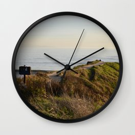 West Cliff, Santa Cruz Wall Clock