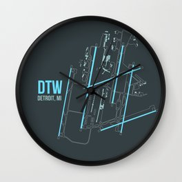 DTW Wall Clock