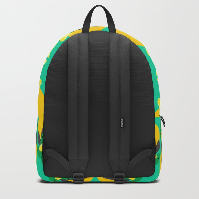 Desert fox pattern Backpack