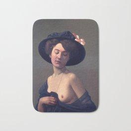 "Felix Vallotton ""Woman with a Black Hat"" Bath Mat"