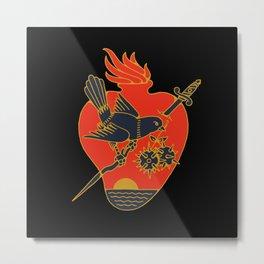BLUEBIRD Metal Print
