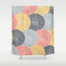 Flower Infusion Shower Curtain