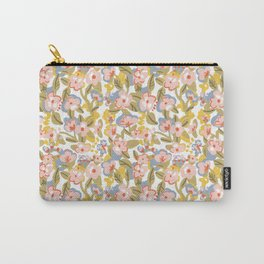 Colorful flower pattern Carry-All Pouch
