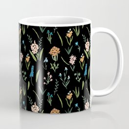 Dark Vintage Botanical Coffee Mug
