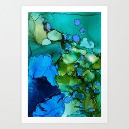 Green Grass and High Tides Art Print