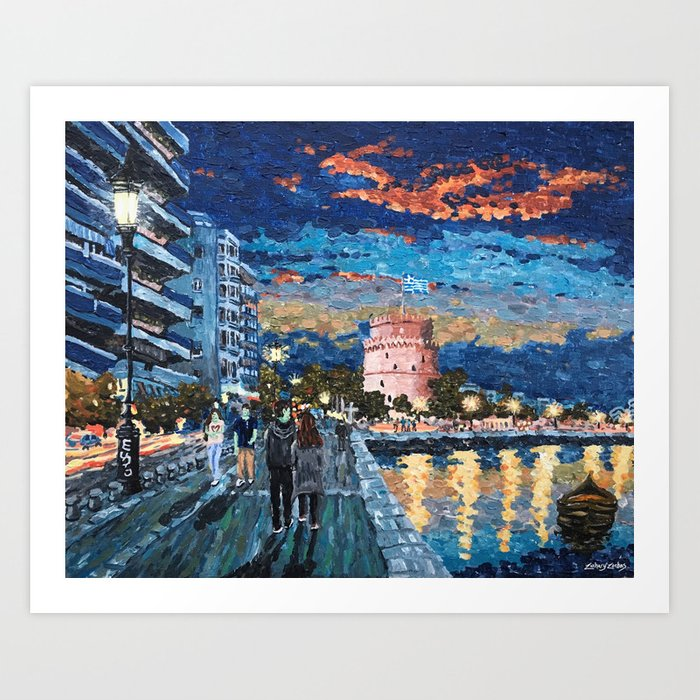 Greece: Thessaloniki In Memory Art Print