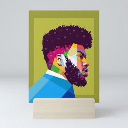 Khalid Mini Art Print