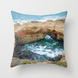Devil's Punchbowl Throw Pillow