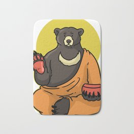 Buddhism Gift Religion Buddha Gautama Bath Mat