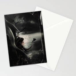 Halloween Queen 2 Stationery Cards