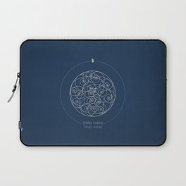 Doctor Who: Wibbly Wobbly Laptop Sleeve