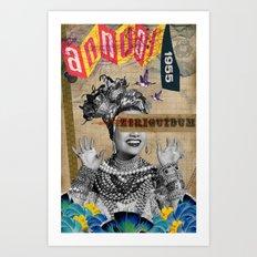 Public Figures Collection -- Carmen Art Print
