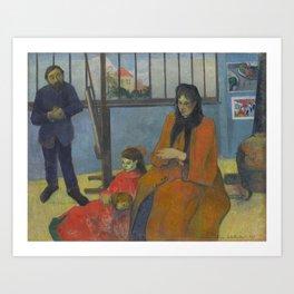 Paul Gauguin - Schuffenecker's Studio (1889) Art Print