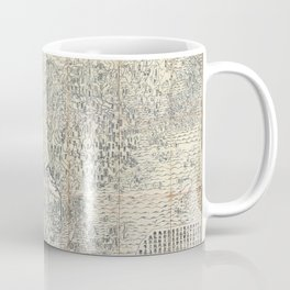 First Japanese Buddhist World Map showing Europe, America and Africa - print from 1710 Coffee Mug