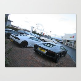 Lamborghini Hurcan and Aventador Canvas Print
