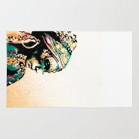 gypsy Area & Throw Rugs featuring Gypsy by Mo Baretta