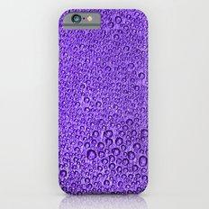 Water Condensation 05 Violet iPhone 6s Slim Case