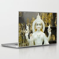 hindu Laptop & iPad Skins featuring Lakshmi-Hindu Goddess in India by The Photo Buddha