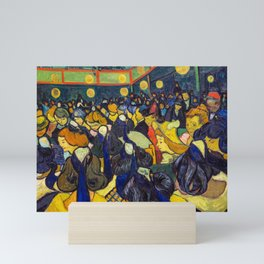 Vincent Van Gogh - The ballroom at Arles Mini Art Print