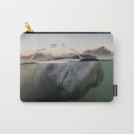Manatee Sunrise Carry-All Pouch