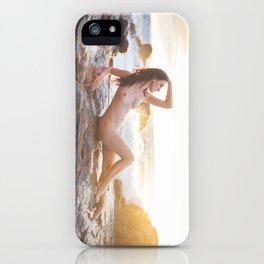 Sunset Siren iPhone Case