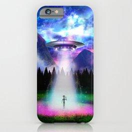 Alien Insight - Hello Alien iPhone Case