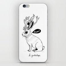 Le Jackalope iPhone & iPod Skin
