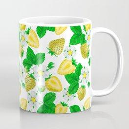 Yellow strawberries  Coffee Mug