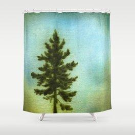 Intrepid Treester Shower Curtain